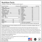 Big Time Chocolate Fudge Protein Mass Gainer Nutrition Facts