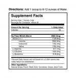Go Time Supplement Nutrition Facts