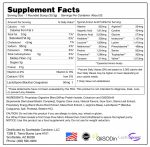 Whey Isolate Vanilla Protein Nutrition Facts
